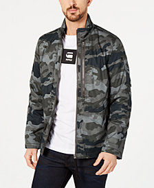 G-Star RAW Mens Rackam Utility Camo Jacket, Created for Macy's