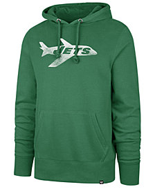 '47 Brand Men's New York Jets Retro Knockaround Hoodie