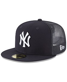 New Era New York Yankees On-Field Mesh Back 59FIFTY Fitted Cap