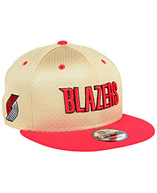 New Era Portland Trail Blazers Champagne 9FIFTY Snapback Cap