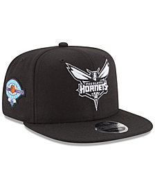 New Era Charlotte Hornets Anniversary Patch 9FIFTY Snapback Cap