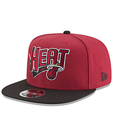 New Era Miami Heat Retro Tail 9FIFTY Snapback Cap