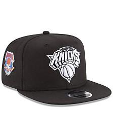 New Era New York Knicks Anniversary Patch 9FIFTY Snapback Cap