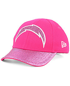 New Era Girls' Los Angeles Chargers Shimmer Shine Adjustable Cap