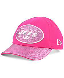 New Era Girls' New York Jets Shimmer Shine Adjustable Cap