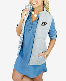 Gameday Couture Women's Purdue Boilermakers Reversible Vest