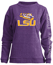 Pressbox Women's LSU Tigers Comfy Terry Sweatshirt