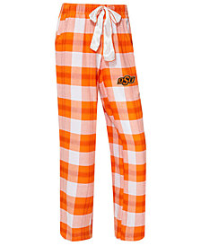 Concepts Sport Women's Oklahoma State Cowboys Homestretch Flannel Pajama Pants