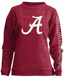 Pressbox Women's Alabama Crimson Tide Comfy Terry Sweatshirt