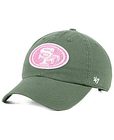 '47 Brand Women's San Francisco 49ers Moss Glitta CLEAN UP Cap