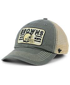 '47 Brand Cleveland Browns Sallana Mesh CLEAN UP Cap