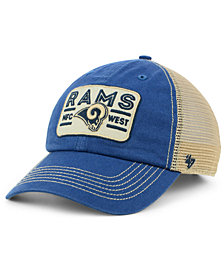 '47 Brand Los Angeles Rams Sallana Mesh CLEAN UP Cap