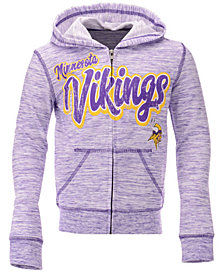 5th & Ocean Minnesota Vikings Space Dye Hoodie, Girls (4-16)