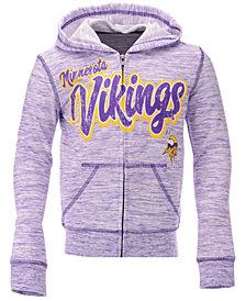 5th & Ocean Minnesota Vikings Space Dye Hoodie, Girls (4-16)