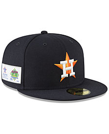New Era Houston Astros Jersey Custom 59FIFTY Fitted Cap