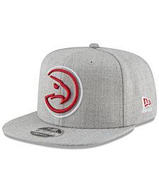 New Era Atlanta Hawks Logo Trace 9FIFTY Snapback Cap
