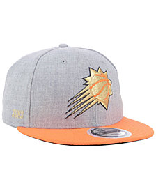 New Era Phoenix Suns Heather Metallic 9FIFTY Snapback Cap