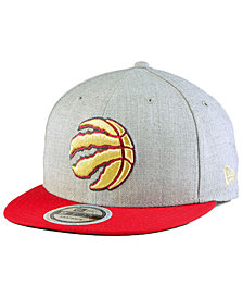 New Era Toronto Raptors Heather Metallic 9FIFTY Snapback Cap