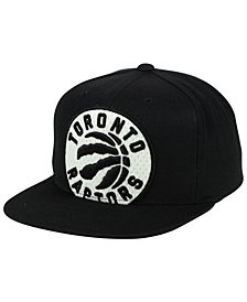 Mitchell & Ness Toronto Raptors XL Mesh Crop Snapback Cap