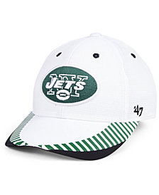 '47 Brand New York Jets Tantrum Contender Flex Cap