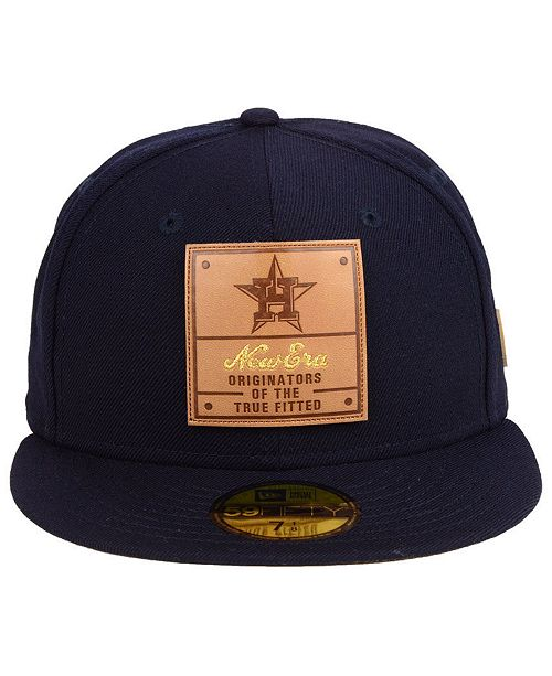 99557e30ac9 ... New Era Houston Astros Vintage Team Color 59FIFTY Fitted Cap ...