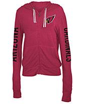 f5aebd9de129 5th   Ocean Women s Arizona Cardinals Hooded Sweatshirt