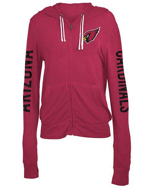5th & Ocean Women's Arizona Cardinals Hooded Sweatshirt