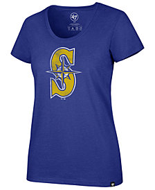 '47 Brand Women's Seattle Mariners Club Scoop Logo T-Shirt