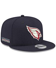 New Era Arizona Cardinals Crafted in the USA 9FIFTY Snapback Cap