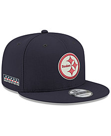 New Era Pittsburgh Steelers Crafted in the USA 9FIFTY Snapback Cap