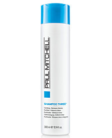 Paul Mitchell Clarifying Shampoo Three, 10.14-oz., from PUREBEAUTY Salon & Spa