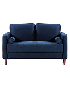 """Lifestyle Solutions Lillith 52"""" Loveseat"""