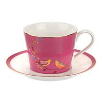 Portmeirion Sara Miller Teacup & Saucer Pink