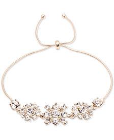 Givenchy Crystal Cluster Slider Bracelet