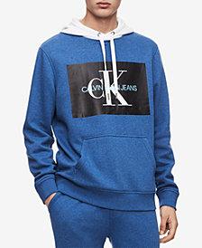 Calvin Klein Jeans Men's Monogram Logo Hoodie Created for Macy's