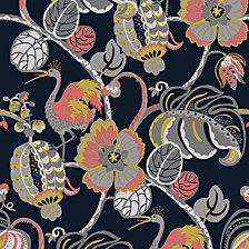 Genenieve Gorder For Tempaper Tropical Fete Self-Adhesive Wallpaper
