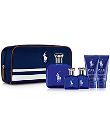 Ralph Lauren Men's 6-Pc. Polo Blue Travel Set