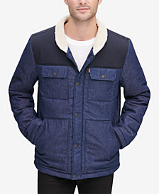Levi's® Men's Mixed Media Woodsman Jacket