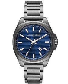 Michael Kors Men's Bryson Gunmetal Stainless Steel Bracelet Watch 42mm
