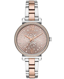 Michael Kors Women's Sofie Two-Tone Stainless Steel Bracelet Watch 36mm