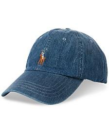 Polo Ralph Lauren Men s Chino Cotton Baseball Cap f2de0b99c3b
