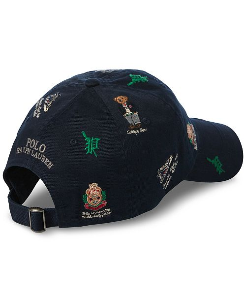 11da1218d6f00 Polo Ralph Lauren Men s Polo Bear Sports Cap   Reviews - Hats ...