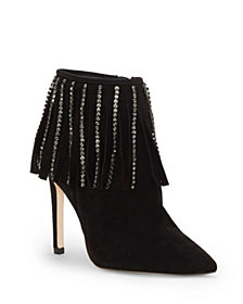 Jessica Simpson Prista Fringe Dress Booties