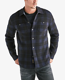 Lucky Brand Men's Geometric Shirt Jacket