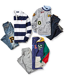 Polo Ralph Lauren Big, Little & Toddler Boys Varsity Collection separates