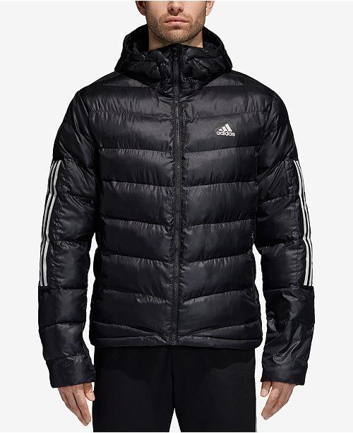 7d734b79d1fb adidas Men s Insulated Hooded Puffer Jacket   Reviews - Coats ...