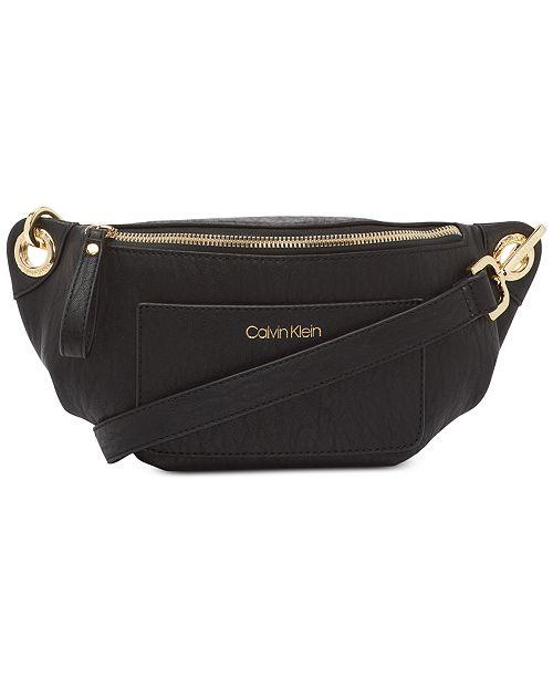 a98943dad Calvin Klein Sonoma Belt Bag & Reviews - Handbags & Accessories - Macy's