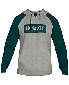 Hurley Men's Box Logo Hoodie, Created for Macy's