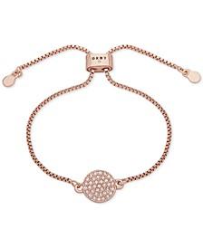 Pavé Disc Slider Bracelet, Created for Macy's