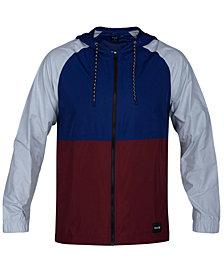 Hurley Men's Pistol River Full-Zip Hooded Jacket